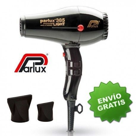 Secador Parlux 385 Light Negro 2150W