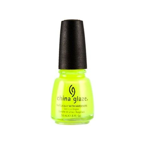 China Glaze Yellow Polka Dot Bikini 14 ml.