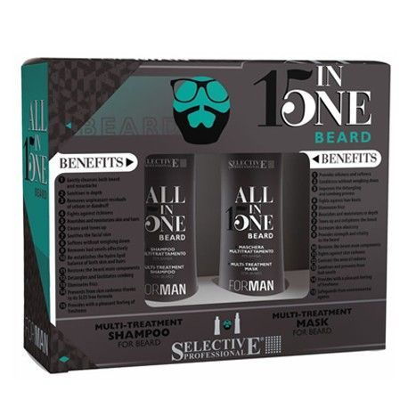 FOR MAN Kit All In One Barba 150 ml