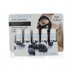 Koken Expositor Active Carbon Mask 10 x 75 ml.