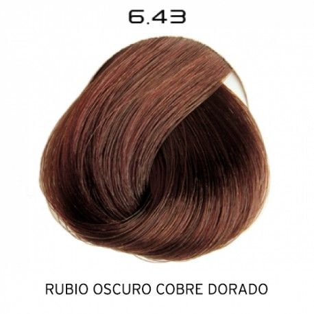 Tinte Colorevo 6.43 Rubio Oscuro Cobrizo Dorado 100 ml.