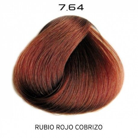 Tinte Colorevo 7.64 Rubio Rojizo Cobrizo 100 ml.