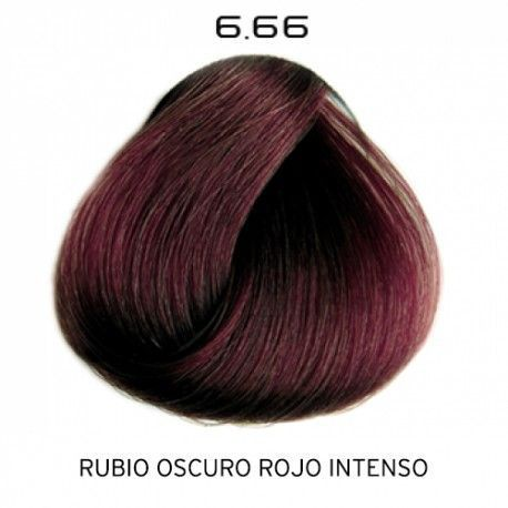 Tinte Colorevo 6.66 Rubio Oscuro Rojo Intenso 100 ml.
