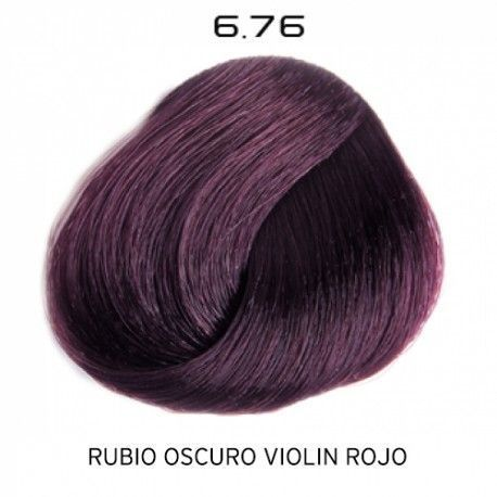 Tinte Colorevo 6.76 Rubio Oscuro Violin Rojo 100 ml.